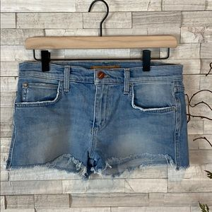 Joes Jeans Vintage Style Distressed Shorts 27 EUC